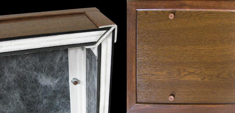 Cassonetti in pvc - Isolamento cassonetti finestre ...