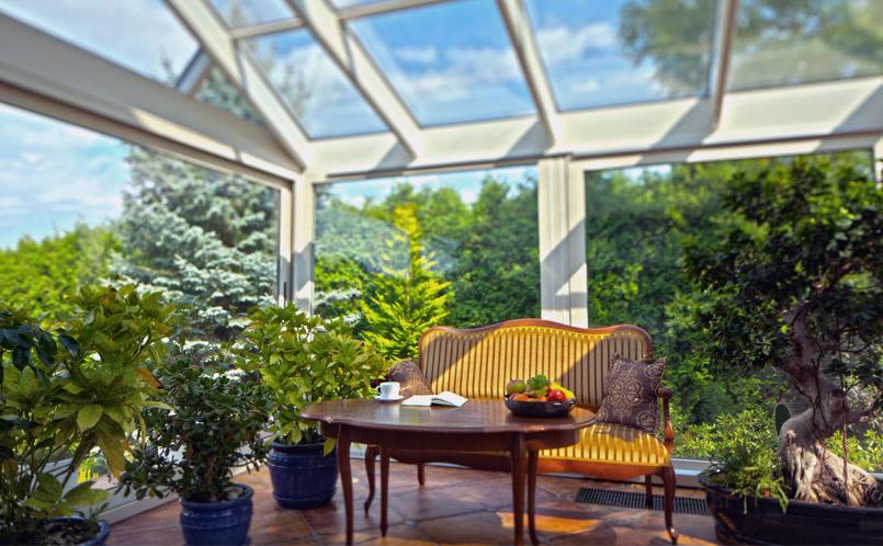 Giardino Dinverno Veranda : Giardini dinverno verande per esterni milano
