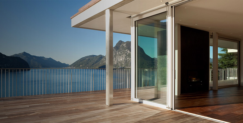 Porte finestre scorrevoli