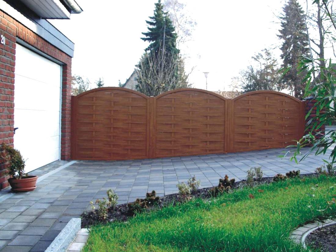 Recinzioni per giardino recinzioni da giardino in legno - Recinzioni in metallo per giardino ...
